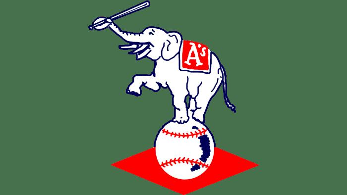 Philadelphia Athletics Logo 1954