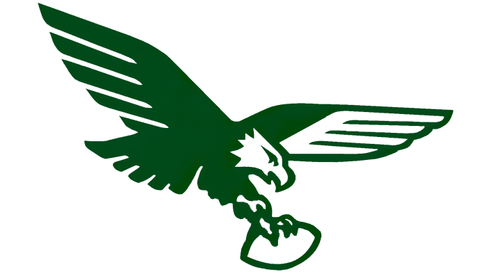 Philadelphia Eagles Logo 1969-1972