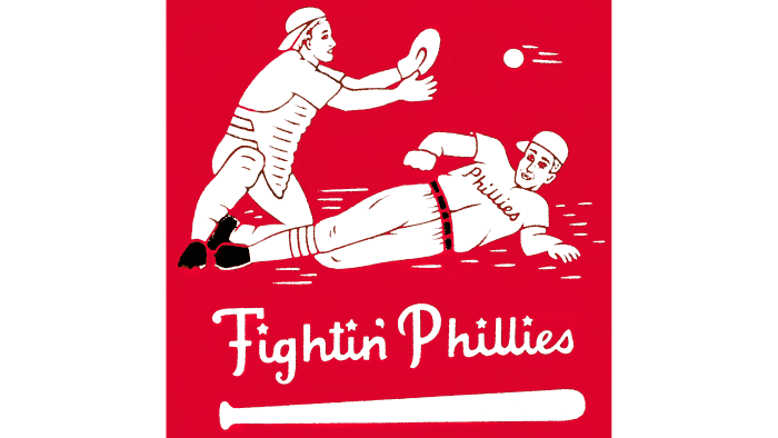 Philadelphia Phillies Logo 1946-1949