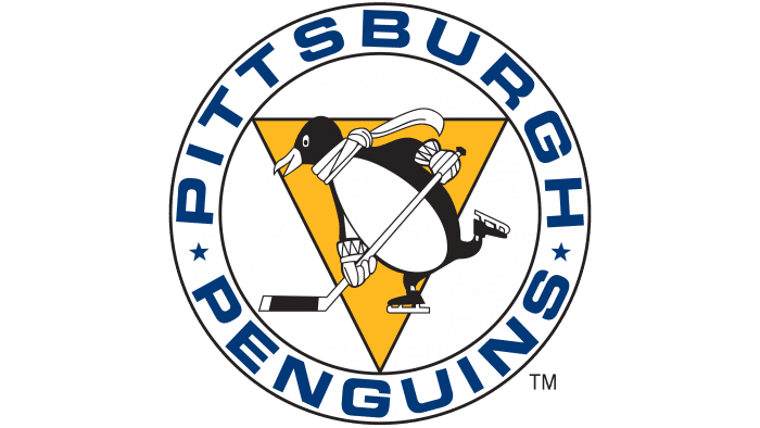 Pittsburgh Penguins Logo 1967-1968