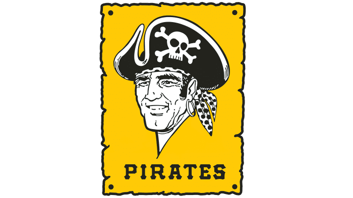 Pittsburgh Pirates Logo 1967-1986