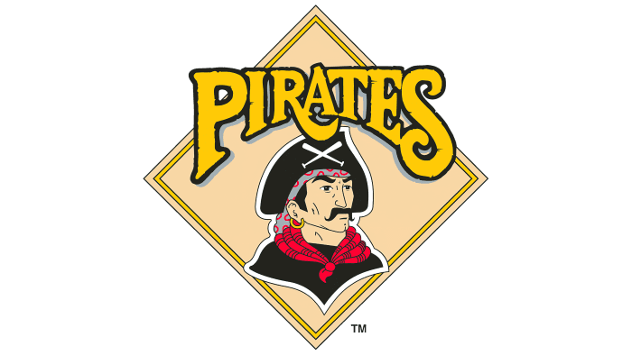 Pittsburgh Pirates Logo 1987-1996