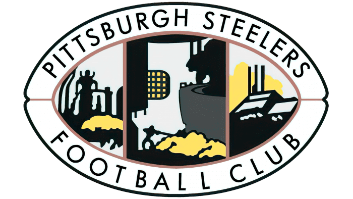 Pittsburgh Steelers Logo 1945-1961