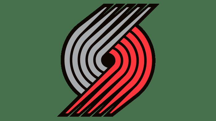 Portland Trail Blazers Logo 2002-2003