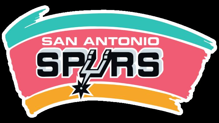 San Antonio Spurs Logo 1989-2002