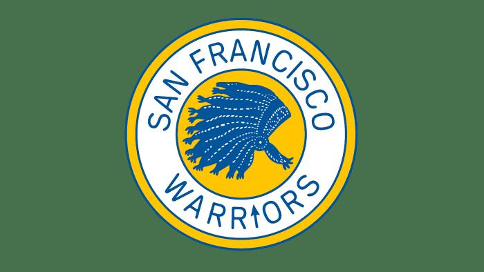 San Francisco Warriors Logo 1963-1969