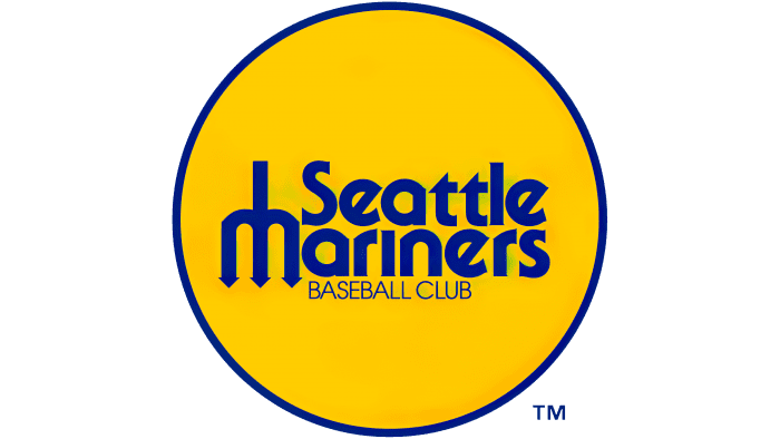 Seattle Mariners Logo 1977-1980