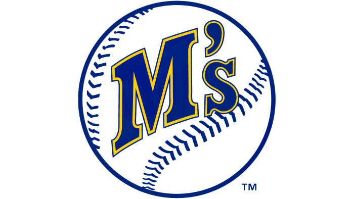 Seattle Mariners Logo 1987-1992