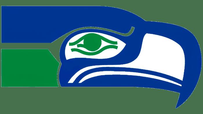 Seattle Seahawks Logo 1976-2001