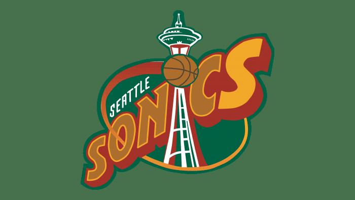 Seattle Sonics Logo 1996-2001