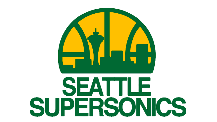 Seattle SuperSonics Logo 1976-1995