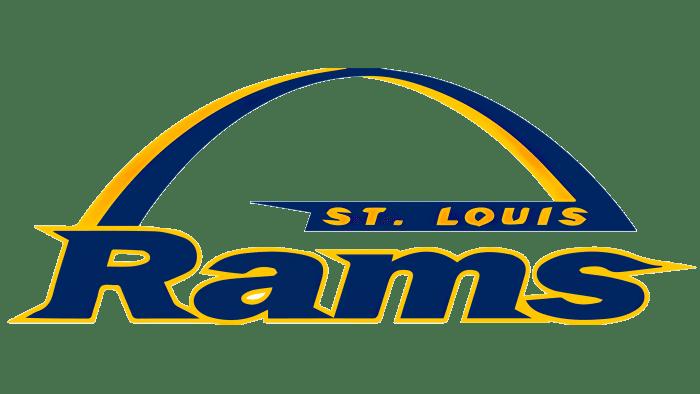 St.Louis Rams logo 1995-1999