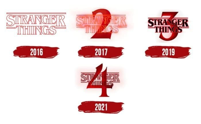 Stranger Things Logo History