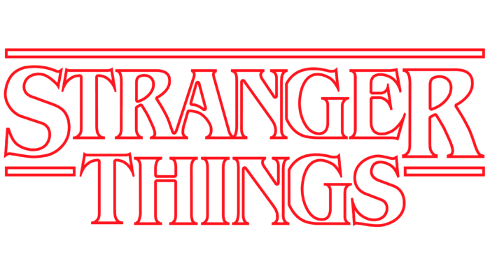 Stranger Things season 1 Logo 2016