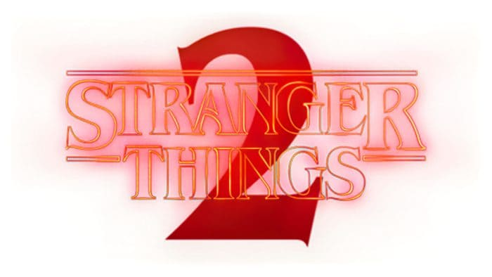 Stranger Things season 2 Logo 2017