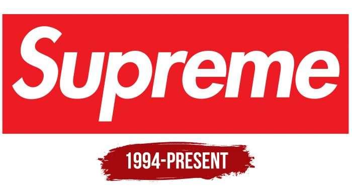 Supreme Logo History