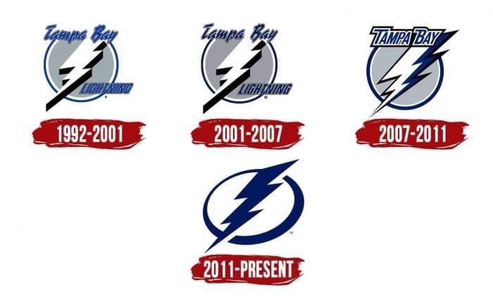 Tampa Bay Lightning Logo History