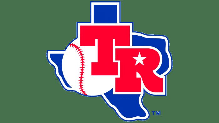 Texas Rangers Logo 1982-1983