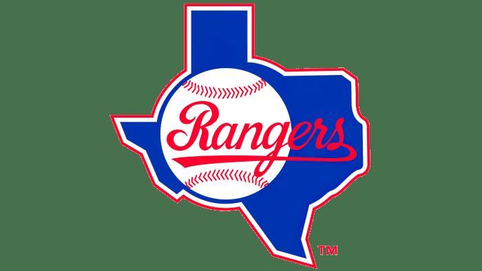 Texas Rangers Logo 1984-1993