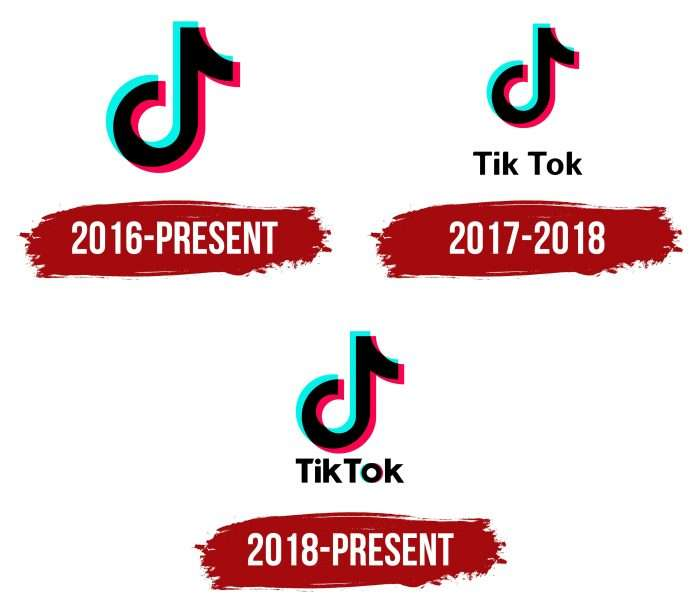 TikTok Logo History