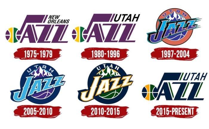 Utah Jazz Logo History