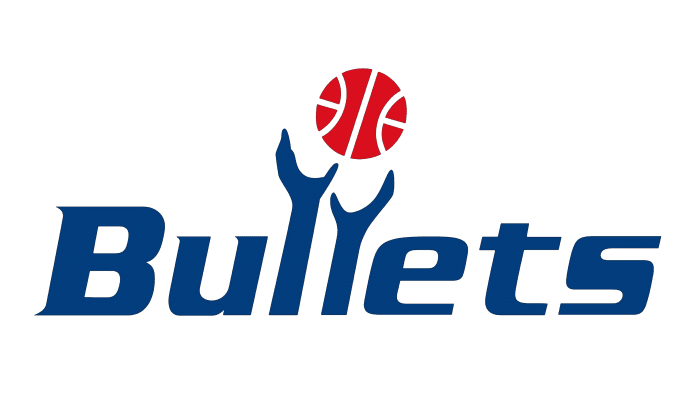 Washington Bullets Logo 1987-1997