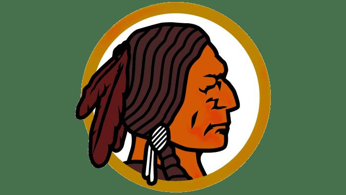 Washington Redskins Logo 1937-1951