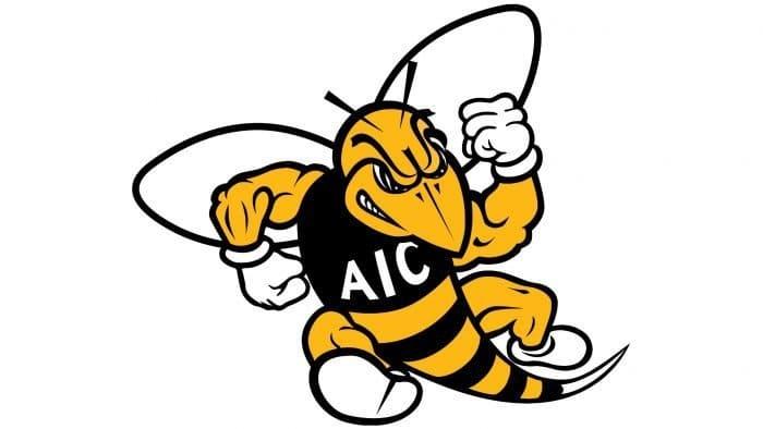 AIC Yellow Jackets Logo 2009-Present