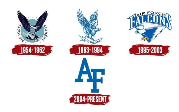 Air Force Falcons Logo History