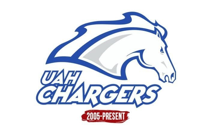 Alabama-Huntsville Chargers Logo History