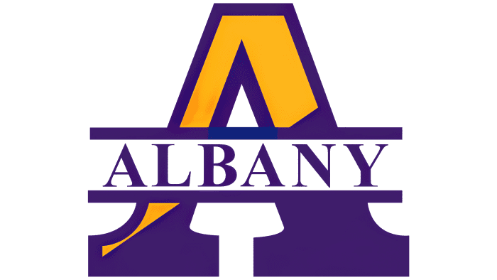 Albany Great Danes Logo 1993-2003