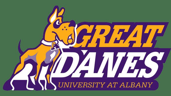 Albany Great Danes Logo 2001-2007
