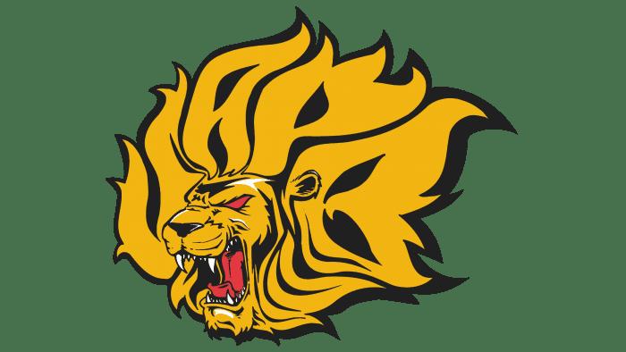 Arkansas PB Golden Lions Logo 2001-2014