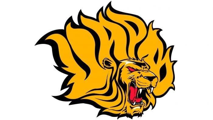 Arkansas PB Golden Lions Logo 2015-Present