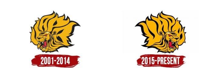 Arkansas-PB Golden Lions Logo History