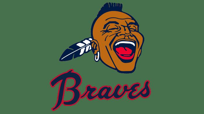 Atlanta Braves Logo 1968-1971