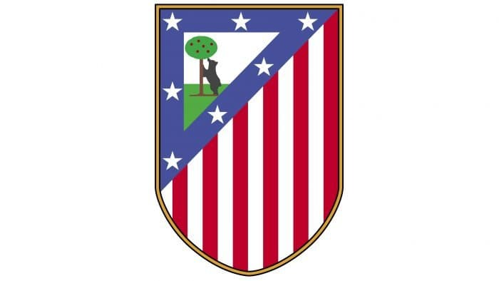 Atletico Madrid Logo 1950-1970