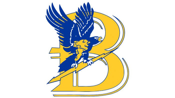 Bentley Falcons Logo 1988-2012