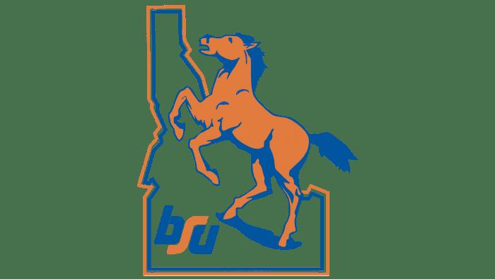 Boise State Broncos Logo 1974-2001