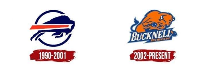 Bucknell Bison Logo History