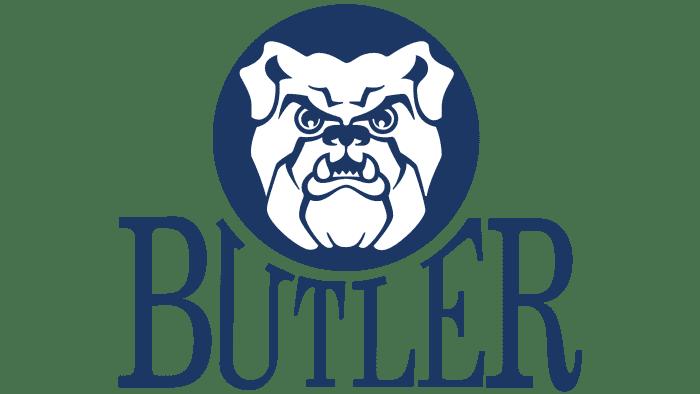 Butler Bulldogs Logo 1990-2014