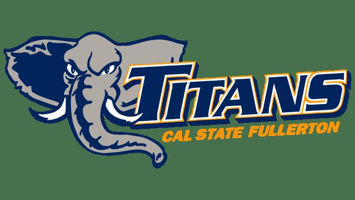 Cal State Fullerton Titans Logo 2000-2009
