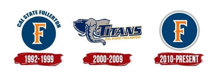 Cal State Fullerton Titans Logo History