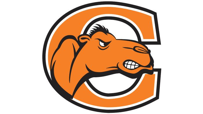 Campbell Fighting Camels Logo 2005-2007