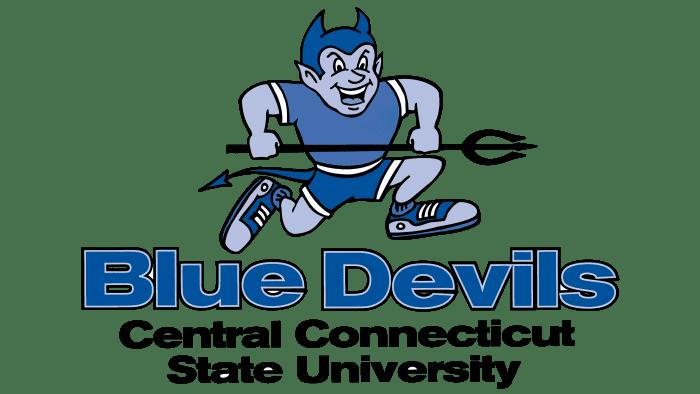 Central Connecticut Blue Devils Logo 1994-2010