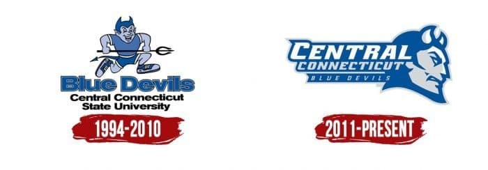 Central Connecticut Blue Devils Logo History