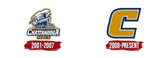 Chattanooga Mocs Logo History