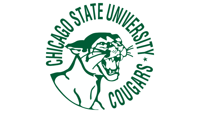 Chicago State Cougars Logo 1963-2008