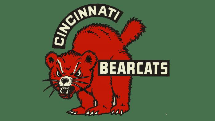 Cincinnati Bearcats Logo 1959-1968