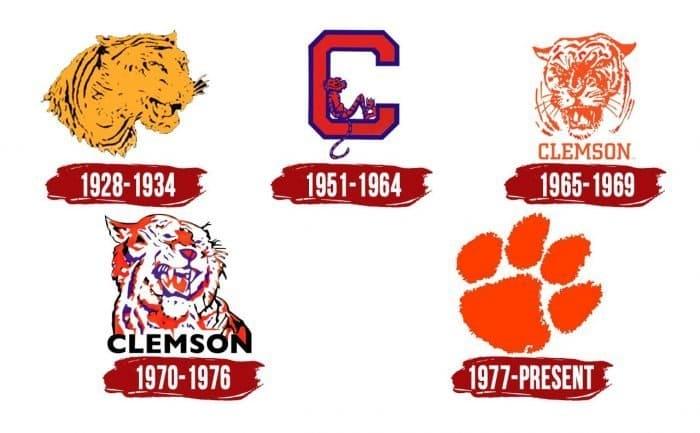 Clemson Tigers Logo History